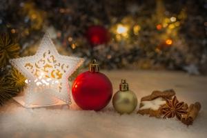 Weihnachten, die Zeit der Familie, des...