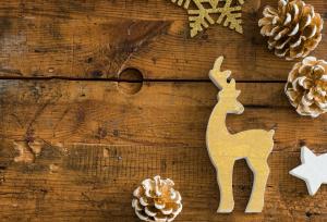 Rudolph, das Rentier mit der roten Nase, kennt...