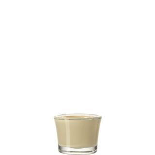 glaskoch Tischlicht 6 Creme Bloom