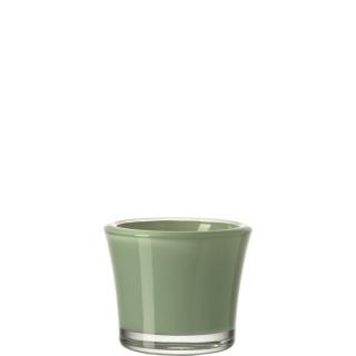 glaskoch Tischlicht 8,5 Grün Neu Bloom