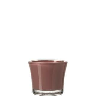 glaskoch Tischlicht 8,5 Altrosa Bloom