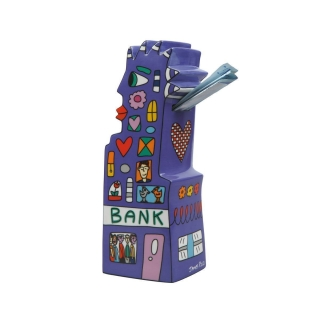 Goebel My Pointy Piggy Bank - Spardose Pop Art James Rizzi 26100057