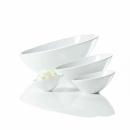 ASA Vongole Schale asymmetrisch, weiß L. 32,5 cm 91053005 (Ausstellungsstück)
