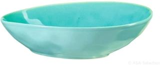 ASA Alaplage Ovale Oliven Schale m TURQUOISE 15,8 x 12,3cm, h. 4,6 cm 12153098
