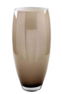 Fink AFRICA Glasvase,greige,opal  Höhe 40cm 115310