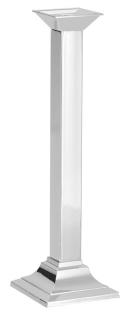 Fink Atlanta  Leuchter  Edelstahl   vernickelt  Zinklegierung  silberfarben  Höhe 34 cm   138044