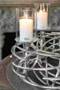 Fink Bardo  Windlichtaufsatz  Glas  klar  Höhe 20 cm...