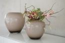 Fink LOSONE Vase,opal greige  Höhe 20cm, Ø...