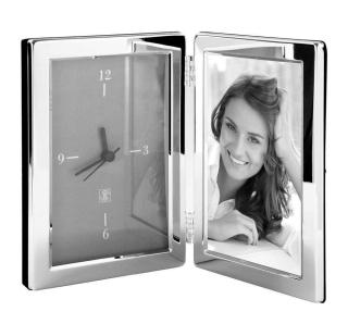 Fink Classic Rahmen,Uhr,Versilbert 10X15 cm As 133128