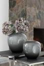 Fink LOSONE Vase,opal grau  Höhe 25cm, Ø 25cm 115004