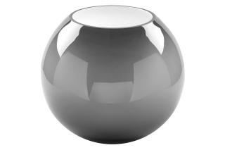 Fink MOON Glasvase,grau,opal  Ø 25cm, Höhe 21cm 115313