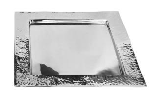 Fink PIATTO Tablett Edelstahl H=2cm 24x24cm 127480