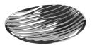 Fink JULA Vase,silberfarb.,Porzellan  Höhe 13,2cm...