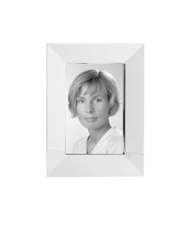 Fink Thea  Bilderrahmen  Glas  Stahl  versilbert  silberfarben  Breite 18 cm  Höhe 23 cm   133523