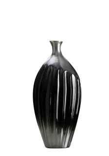Gilde Keramik Schlanke Vase Incavo