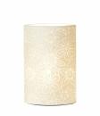 Ovale Lampe Prickel Fassung E 14 max. 40 Watt L= 11,0 cm...
