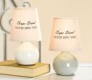 "Gilde Keramik Lampe "" Carpe Diem"" 1 Stück"
