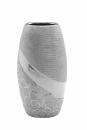 "Vase ""Stella Silver"" oval silber L= 11,0 cm B=..."