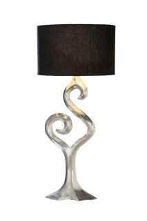 """Gilde Lampe """"Luma"""" aus Aluminium Fassung E 27 max. 40 Watt L= 10,0 cm H= 69,0 cm Ø 31,0 cm 48995"""