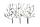 Gilde Baum-Relief 3 Bäume mit Vögeln braun mit silber/goldenen Blättern und goldenen Vögeln L= 2,0 cm B= 104,0 cm H= 71,0 cm 68087