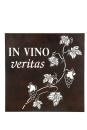 """Gilde Wandrelief Weinrebe """"IN VINO veritas""""..."""