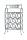 """Gilde 9er Weinflaschenhalter """"VINO""""(Rechts) grau metallic, pulverbeschichtet, mit Tragegriff  H= 59,0 cm 68915"""