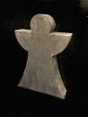 Gilde Holz Engel Antik-Grau 57 cm Sperrholz
