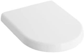Villeroy & Boch WC Sitz SUBWAY weiß alpin Soft Closing Scharniere chrom 9955S101