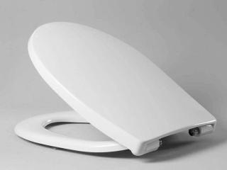 Haro WC-Sitz Passat SoftClose Premium Excenterscharnier Edelstahl C0202Y weiß