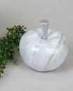 Formano Deko-Apfel 16x16 cm Marmor-grau    786517