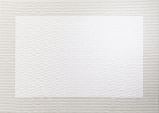 ASA Pvc Tischset, perlmutt 46 x 33 cm, mit gewebtem Rand 78108076
