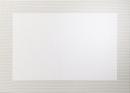 ASA Pvc Tischset, perlmutt 46 x 33 cm, mit gewebtem Rand...