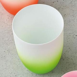 ASA Neon Vase/ Windlicht grün Porzellan D. 8,5cm, H. 12cm 10111129