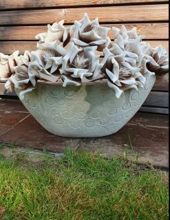 Gilde Keramik Pflanzschale Vienna 31691