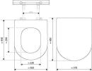 Renova WC-Sitz m.Deckel        Keramag WC-Sitz Renova Nr.1 mit Deckel
