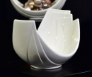 Tiziano Schale Lavano 26cm oval creme 180911