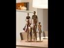 Gilde Metall Skulptur We are Family 38805
