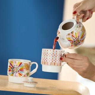 Gilde Porzellan Tea for two Blütenblätter  in Geschenkverpackung  49204