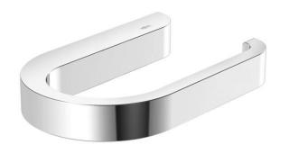 """Hewi System 800 Papierhalter   verchromt            HEWI WC-Papierhalter System 800 U-f""""rmiger, nach rechts ge""""ffneter WC-Papierhalter, dient zur Aufnahme einer WC-Papierrolle, zur Wandmontage, verdeckte Befestigung, 140 mm breit, 20 mm hoch und 90 mm ti"""