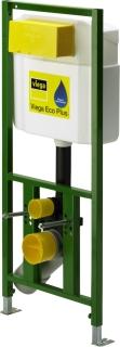 """Viega Eco Plus Element f.WC    BH113cm Bet""""tigung v Viega ECO Plus-WC-Element, fr Bet""""tigung von vorn, mit vormontiertem Wasseranschluss mit Rp 1/2, tiefenverstellbarem WC- Anschlussbogen DN 90, exzentrisches šbergangsstck DN 90/100, WC-Anschlussgarnit"""