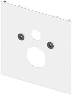 TECElux WC.Glasplatte          Glas weiss, fr Stan Untere WC-Glasplatte zur Kombination mit WC-Keramiken Befestigungsabstand 180mm, mit Dusch-WC TOTO Neorest bzw. Geberit AquaClean 8000/8000 plus oder mit Dusch-WC Aufsatz TOTO washlet GL oder Geberit Aq