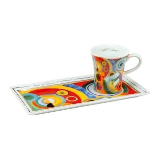 Goebel Lebensfreude - Espresso Set Artis Orbis Weitere Künstler 66513987