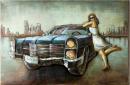 Gilde Gallery Metall Bild American Love Story 80 x 120 cm 38604