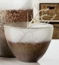 Gilde Glas Windlicht/Vase Lanzarote 39957