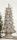 Gilde Poly Weihnachtsbaum antik grau 59cm