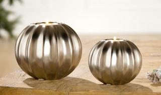 Gilde Keramik Teelichthalter Cortina 33043