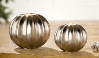 Gilde Keramik Teelichthalter Cortina 33044