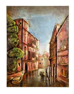 Gilde Metall Bild Venezia 38649 80 x 100 cm