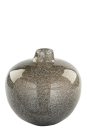 Fink SILVA, Vase, Glas, grau, Höhe 20 cm,...