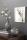 Fink SILVA, Vase, Glas, grau, Höhe 20 cm, Durchmesser 19 cm 115117